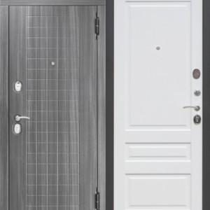 Входная металлическая дверь 10,5 см GARDA МДФ/МДФ Царга с МДФ панелями