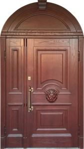 Арочная дверь, 2 створки