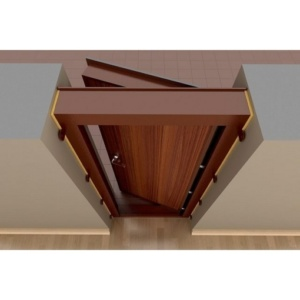 короб и дверное полотно в сборе