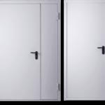 Дверь техническая класса А №01