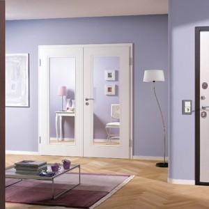 Входная металлическая дверь 7,5 Гарда Антик-Белый ясень