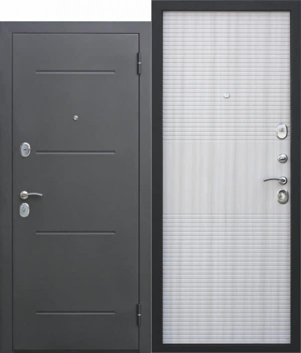 Входная металлическая дверь 7,5 см Гарда МУАР Дуб сонома