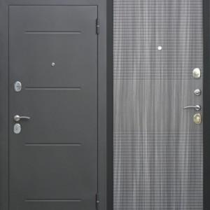 Входная металлическая дверь 7,5 см Гарда МУАР Венге тобакко
