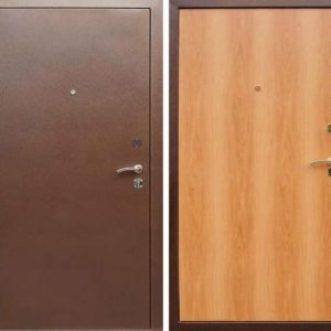 Дверь эконом класса №01
