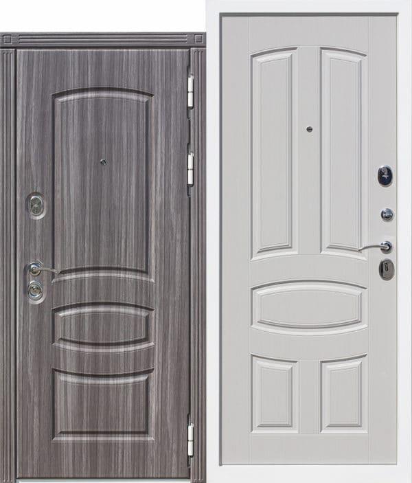Входная дверь 12 см ГРАНАДА / Фрезерованная