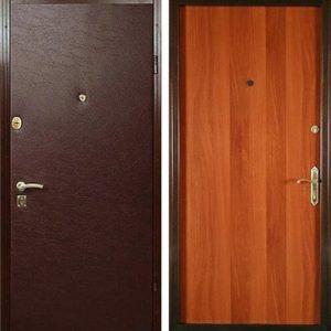 Входная ламинированная дверь №1
