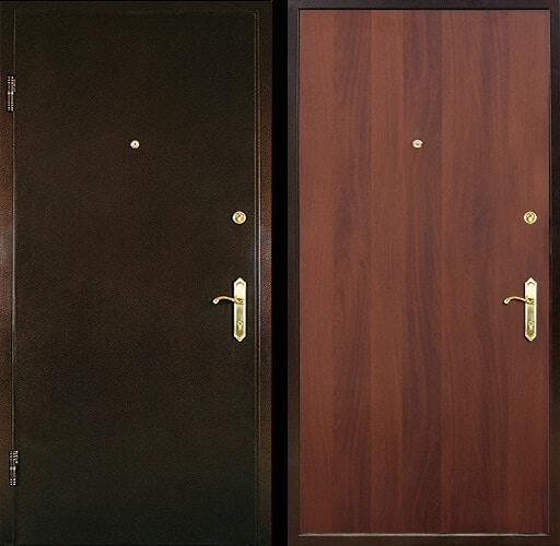Входная ламинированная дверь №12