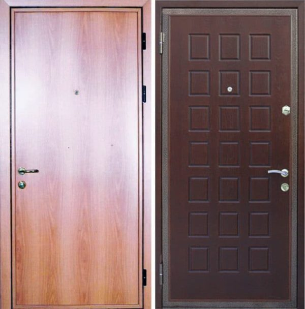 Входная ламинированная дверь №15