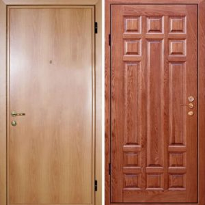 Входная ламинированная дверь №17