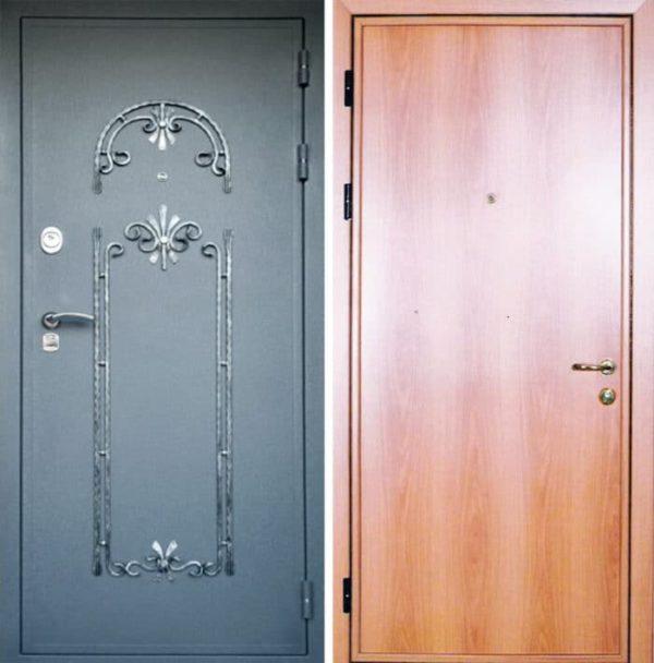 Входная ламинированная дверь №21