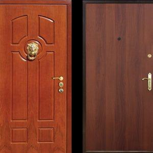 Входная ламинированная дверь №22