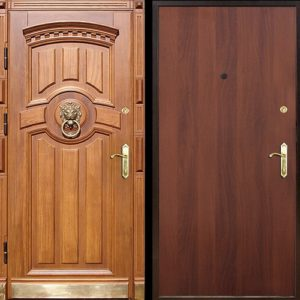 Входная ламинированная дверь №23