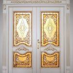 МДФ панель дверь №11