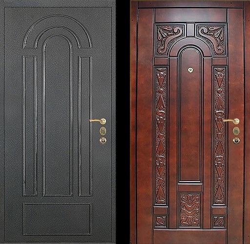 МДФ панель дверь №13