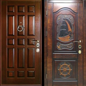 МДФ панель дверь №14