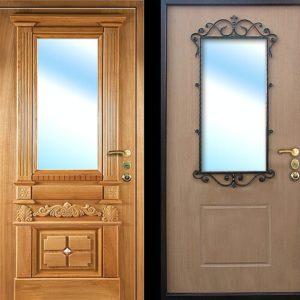 МДФ панель дверь №9