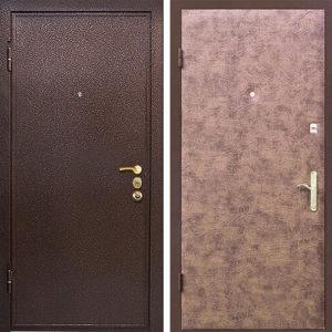 Порошковое напыление дверь №1