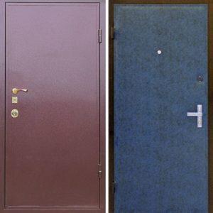 Порошковое напыление дверь №3