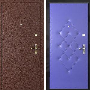 Порошковое напыление дверь №5