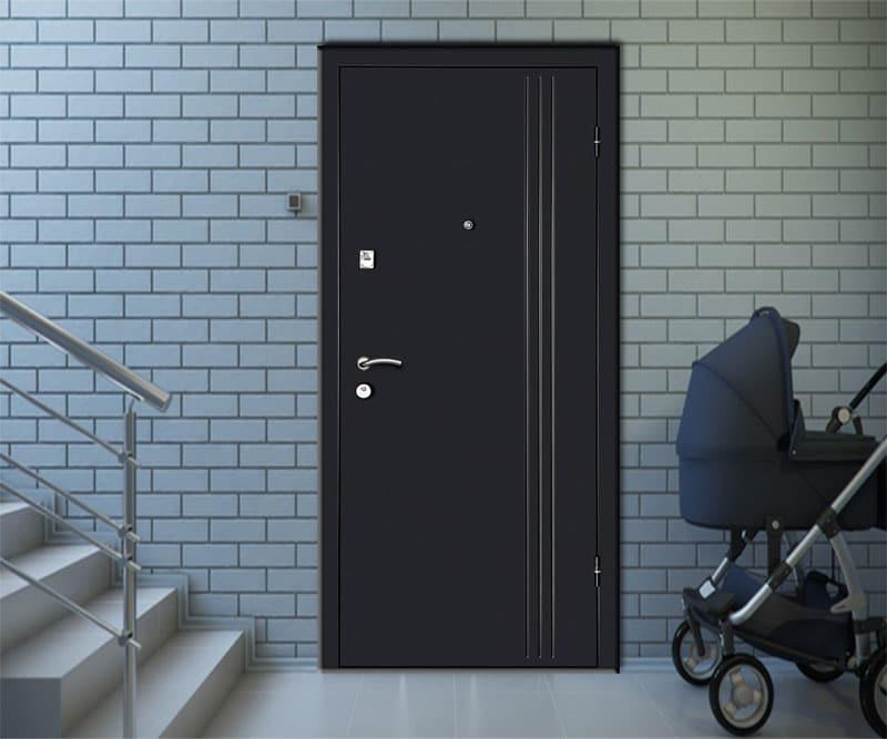 Новая дверь - 2,0 мм сталь