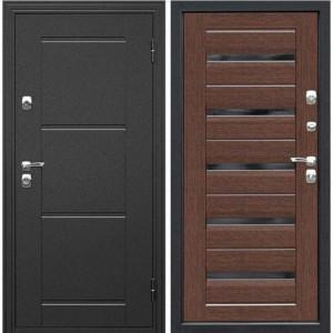 Дверь Премиум №10 Fortuna glass line black