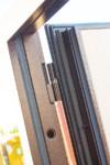 Входная непромерзающая дверь c ТЕРМОРАЗРЫВОМ 11 см ISOTERMA Медный антик Металл/Металл