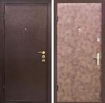 Дверь Стандарт №16 Усиленная ЭкоВинил Винтаж